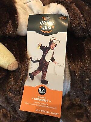 Baby Plush Monkey Halloween Costume Jumpsuit 18-24 Month (24 Month Baby Halloween Costumes)