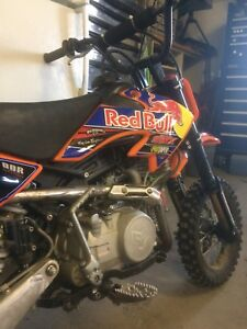 Pitster Pro 140. Red bull graphics