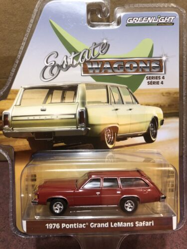 Greenlight Estate Wagons  1976 Pontiac Lemans Safari  statio