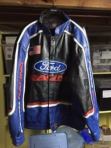 Ford racing leather jacket