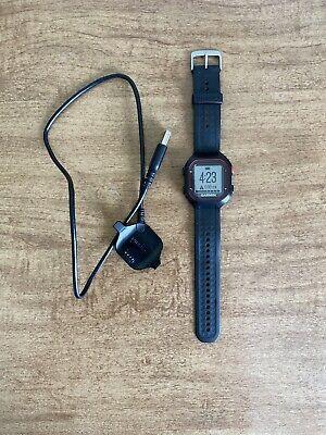 Garmin 010-01353-00 Forerunner 25 GPS Running Watch - Black/Red