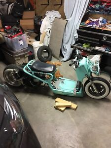 For sale super modified Honda ruckus scooter