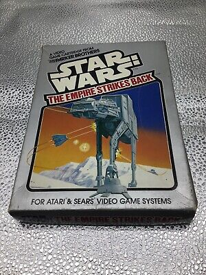 VINTAGE 1982 PARKER BROTHERS STAR WARS THE EMPIRE STRIKES BACK ATARI GAME