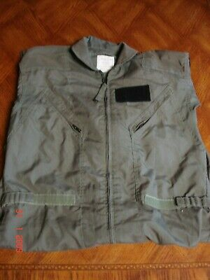 U.S. MILITARY FLYERS COVERALLS SUMMER FIRE RESISTANT SIZE 42 LONG