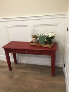 Farmhouse Entrance Table