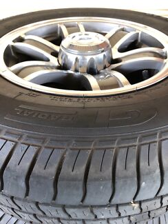 Jayco 14inch Rim centre and Gt Radial Tyre