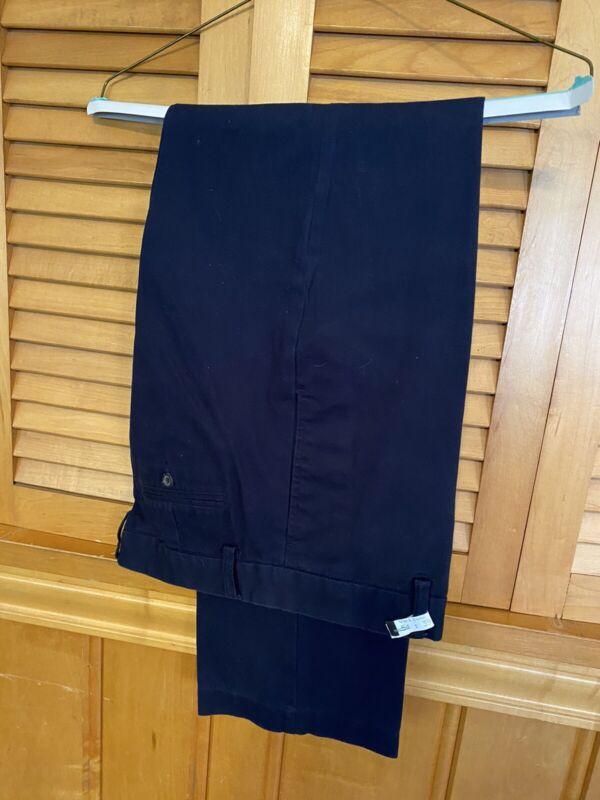 POLO RALPH LAUREN Boys 8 Blue Preppy School Boy Casual Chino Navy Pants Logo 18