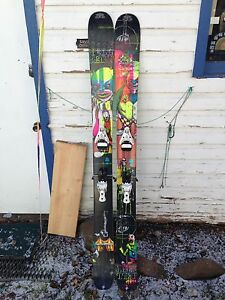 K2 hellbent Skis w/bindings