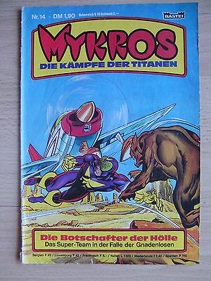 Comics Hefte, Mykros, Die Kämpfe der Titanen, Band Nr. 14, Bastei