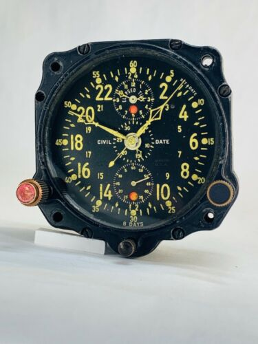 Vintage Jaeger LeCoultre Aircraft Clock