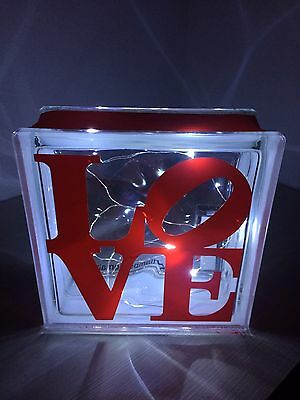 Lampada da tavolo Regalo San Valentino New York LOVE E.artlamps Pop Art
