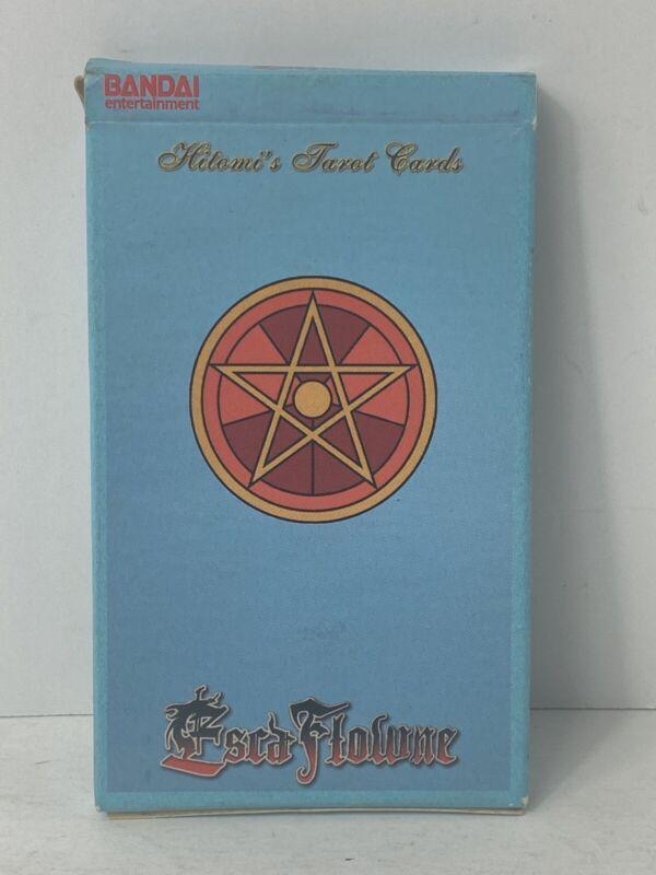Bandai Escaflowne Tarot Cards (Incredibly Rare OOP DVD Promotion) Complete Deck