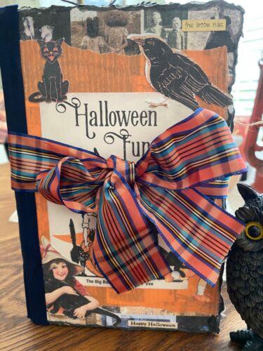 Vintage Handmade Halloween Junk Journal