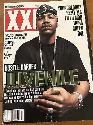 XXL Hip Hop Magazine JUVENILE DAVID BANNER CLIPSE JD YOUNGBLOODZ TRINA DEC - Hip Hop Banners