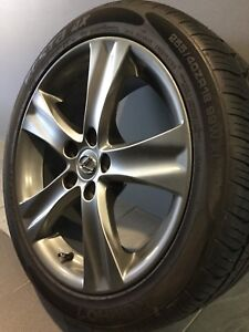 """LEXUS IS350 18"""" STAGGERED GENUINE ALLOY WHEELS AND TYRES Carramar Fairfield Area Preview"""