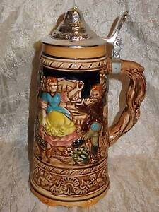 LARGE Grizelle Japan Reproduction Beer Stein/ Music Box in one South Windsor Hawkesbury Area Preview