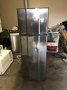 Whirlpool fridge freezer stainless