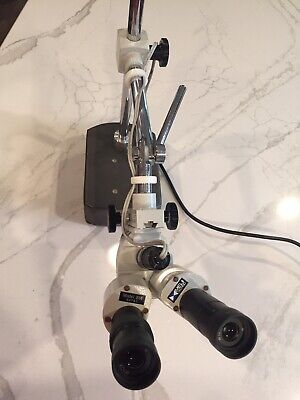 Meiji Techno Stereo Microscope Model Bm W10x Eyepiece Wboom Stand