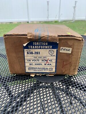Ignition Transformer Jefferson Electrical