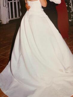 Fairy tale Wedding dress, size 10-12