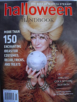 2010 MARTHA STEWART HALLOWEEN HANDBOOK  150 Enchanting Ideas Tricks & Treats - Halloween Treats Martha Stewart