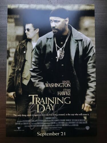 * ETHAN HAWKE * signed autographed 12x18 photo poster * TRAINING DAY * 1