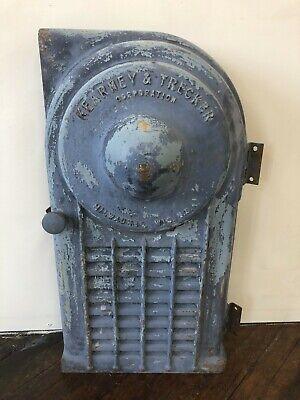 Vintage Cast Iron Metal Kearney Trecker Milling Machine Door Only Milwaukee Wi