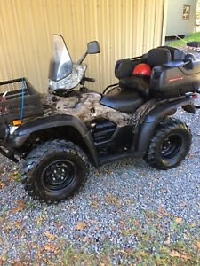 2011 Honda Rubicon ATV