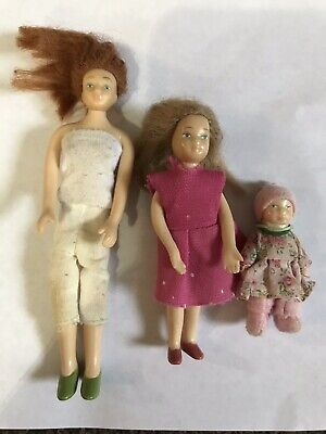 Melissa and Doug doll House Figures lot Mom Sister Baby for sale  Shipping to India