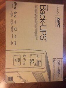 Brand New APC 1000VA Back-UPS BattBackup