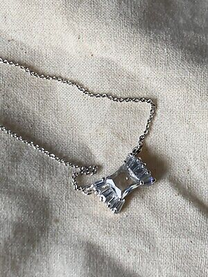 NWT Kate Spade LE SOIR Crystal & silver necklace $68.00