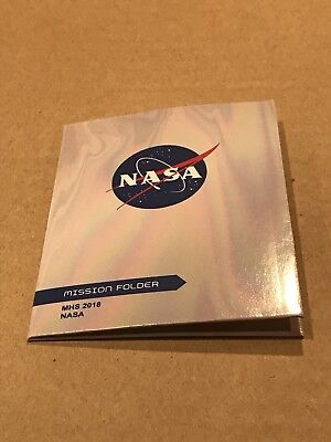 2018 American Girl Doll Of The Year Luciana Mars Habitat Nasa Mission Folder