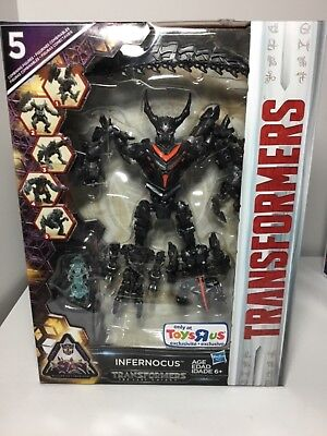 Transformers Toys r us exclusive Infernocus The Last Knight MISB