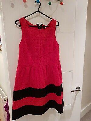 kensie  Red Dress Large