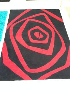 Red / Black modern rug for sale... Waterloo Inner Sydney Preview