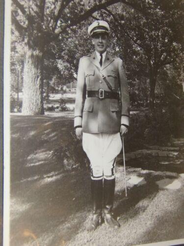 Vintage South Dakota Military or police Officer Photograph