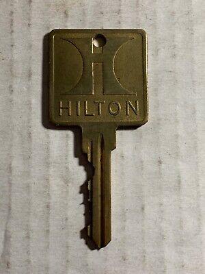 Vintage Hilton Hotel Motel Key #522