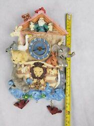 Noah's Ark 12 Wall Clock Rare
