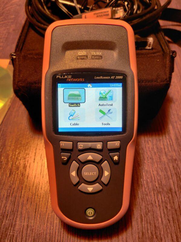 Fluke Networks LinkRunner AT-2000 AT-2000 Network Auto Tester AT2000 LRAT-2000