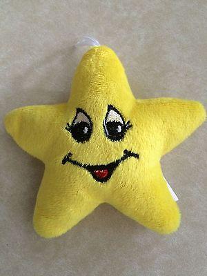 NEU 10 x Plüsch Sterne a`ca. 12,5 cm