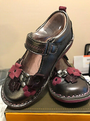 Stride Rite Medallion Collection Mary Jane Leather Shoes Size 10 US EU 27.5 NIB