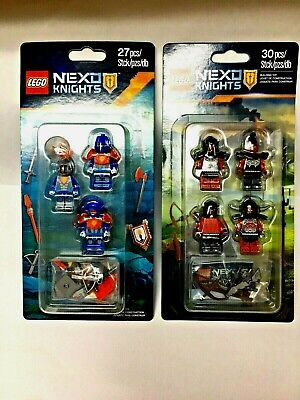 Lego Nexo Knights Monsters Army 853516 + 853676 Minifigure Accessory Pack