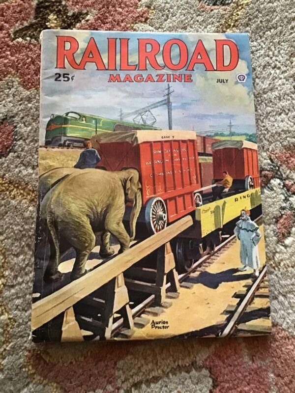 RAILROAD MAGAZINE JULY 1946