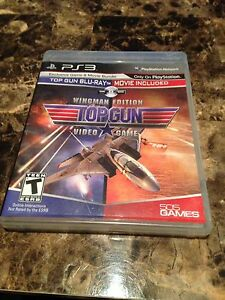 PLAYSTATION 3 TOP GUN ($10) OR TRADE FOR WII OR WIIU GAME