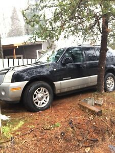 Mercury mountaineer ZERO RUST