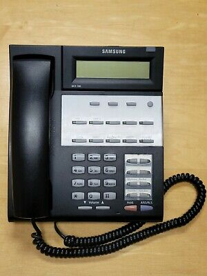 Samsung Falcon Idcs 18d Office Speaker Phone Set Handset Receiver Basestand