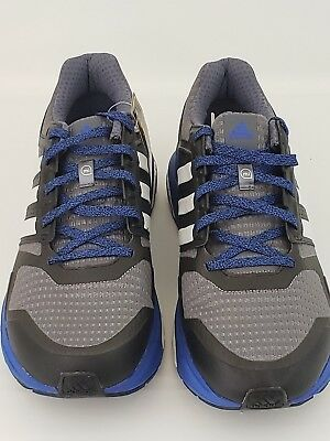 2728829fc1a Adidas Sequence Boost Continental Running Shoes Mens 11.5 Black Grey Blue  S77848