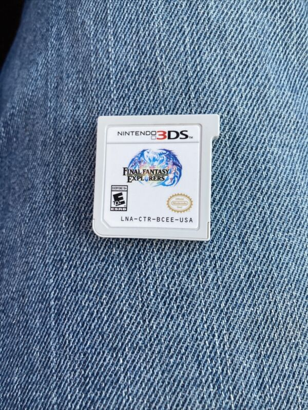 Final Fantasy Explorers (Nintendo 3DS) *AUTHENTIC CART ONLY - CLEANED & TESTED*