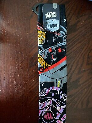 "STANCE Star Wars ""Warped Pilot"" Crew Socks Size Large (9-12) Multi/Black"