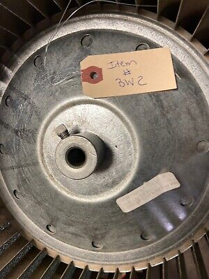 Trane D303766p17 Squirrel Cage Blower Wheel 10 916 X 8 116 For 12 Shaft